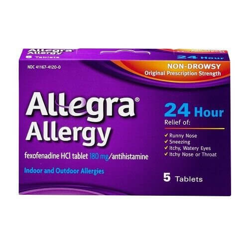Buy Generic Allegra Online to Stay Back Off Allergic Reactions