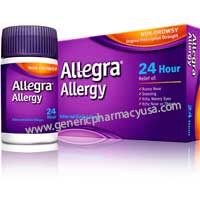 Get rid of allergies with Generic Allegra at fingertips